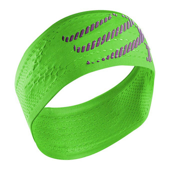 Cinta deportiva ON/OFF neon green