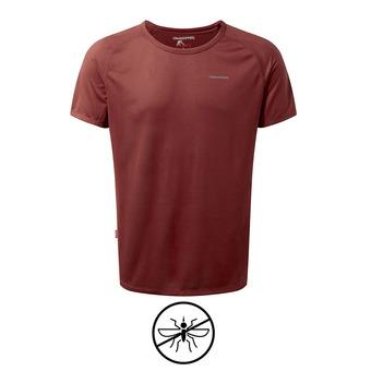 Tee-shirt MC homme BASELAYER red earth
