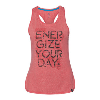 Camiseta de tirantes mujer HELLE 18 dubarry melange/placed print