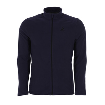 Sweat zippé homme BERGEN peacoat