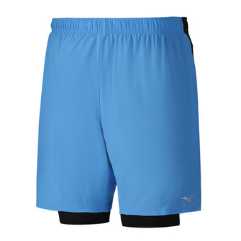Short hombre ALPHA 7.5 5 2in1 diva blue/black