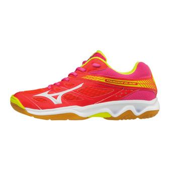 Zapatillas de voleibol mujer THUNDER BLADE fierycoral/white/fuchiap