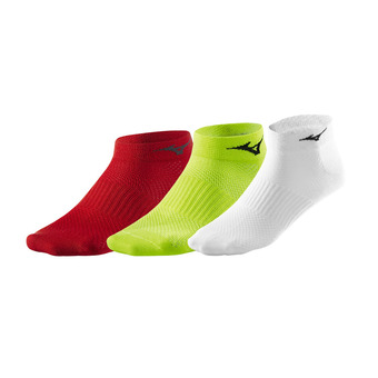 Lot de 3 paires de chaussettes TRAINING MID 3 red/white/yellow