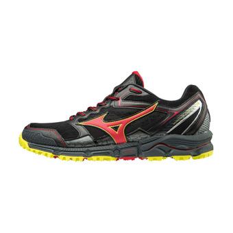 Zapatillas de trail hombre WAVE DAICHI 3 black/formulaone/flash