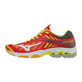 Chaussures de volley homme WAVE LIGHTNING Z4 red/white/yellow