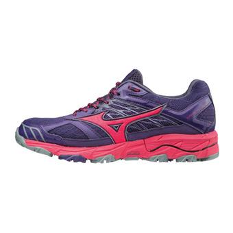 Zapatillas de trail mujer WAVE MUJIN 4 mulpurple/azalea/graysto