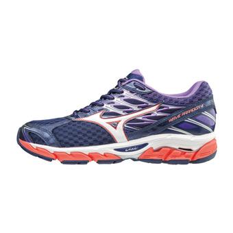 Chaussures de running femme WAVE PARADOX 4 patriotblue/white/hotcoral