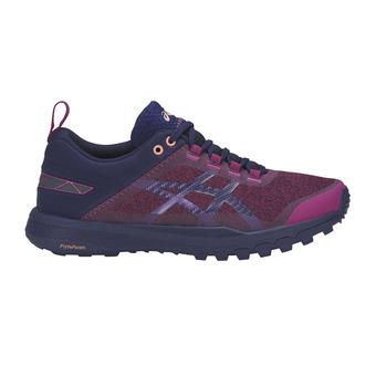 Zapatillas de trail mujer GECKO XT baton rouge/indigo blue/begonia pink