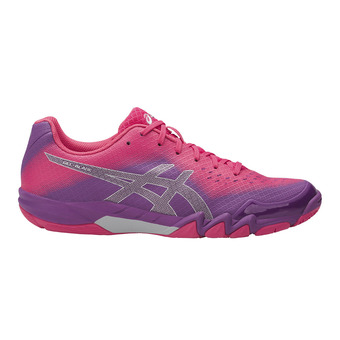 Chaussures badminton femme BLADE 6 orchid/prune/rouge red