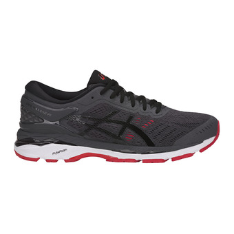Zapatillas de running hombre GEL-KAYANO 24 dark grey/black/fiery red