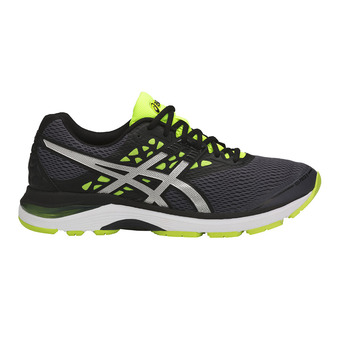Zapatillas de running hombre GEL-PULSE 9 carbon/silver/safety yellow