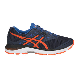 Zapatillas de running hombre GEL-PULSE 9 dark blue/shocking orange/victoria blue
