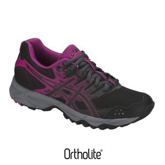 Chaussures trail femme GEL-SONOMA 3 black/baton rouge
