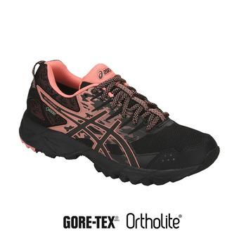 Chaussures trail femme GEL-SONOMA 3 G-TX black/begonia pink