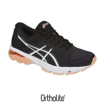 Chaussures running femme GT-1000 6 black/canteloupe/carbon