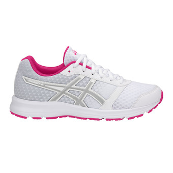 Zapatillas de running mujer PATRIOT 9 white/silver/fuchsia purple