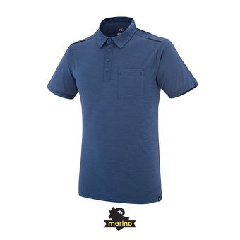 Polo hombre IMJA WOOL ink