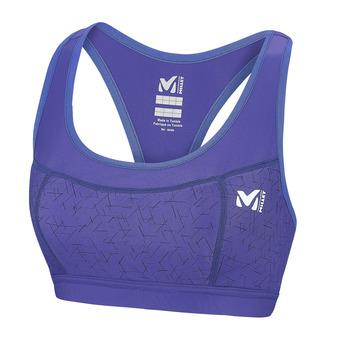 Sujetador deportivo mujer RACER purple blue