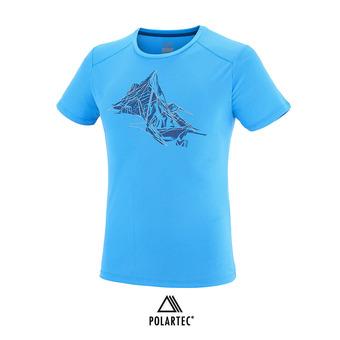 Camiseta hombre NEEDLES electric blue