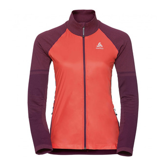 Chaqueta mujer VELOCITY ELEMENT hot coral/pickled beet