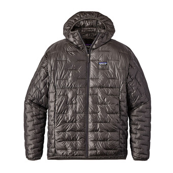 Anorak hombre MICRO PUFF forge grey