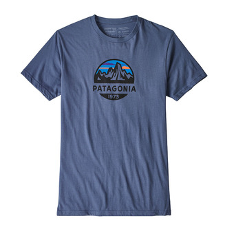 Tee-shirt MC homme FITZ ROY SCOPE ORG dolomite blue