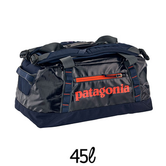 Sac de voyage 45L BLACK HOLE DUFFEL navy blue w/paintbrush red