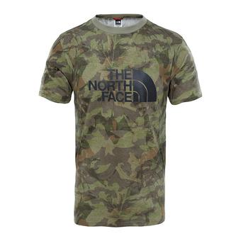 Camiseta hombre EASY english green camo print