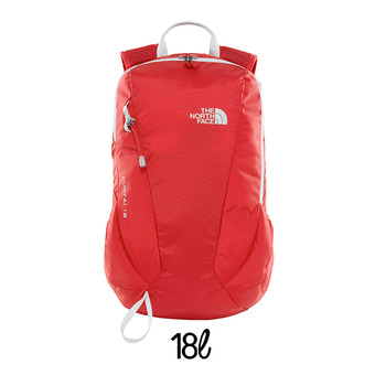 Mochila 18L KUHTAI rage red/high rise grey