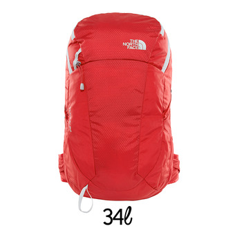 Mochila 34L KUHTAI rage red/high rise grey