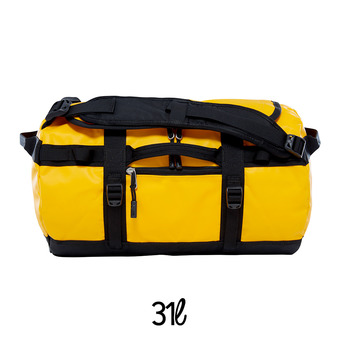 Bolsa de viaje 31L BASE CAMP XS summit gold/tnf black