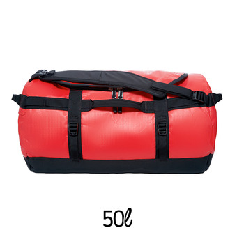 Bolsa de viaje 50L BASE CAMP S tnf red/tnf black