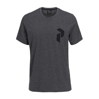 Tee-shirt MC homme TRACK dark grey melange