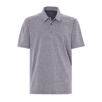 Polo MC homme AERO ELLIPSE fathom heather