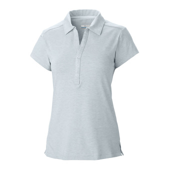 Polo mujer SHADOW TIME cirrus grey