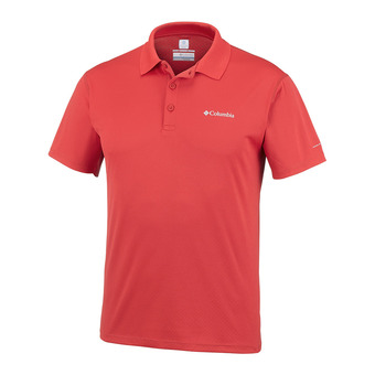 Polo MC homme ZERO RULES red spark