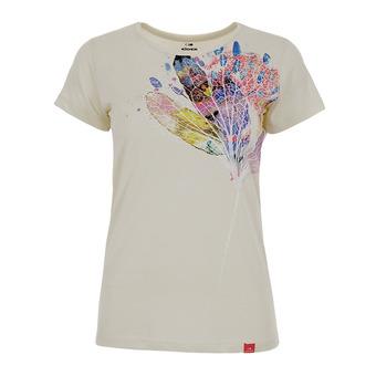 Camiseta mujer ODAIBA mastic flower ink