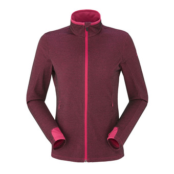 Chaqueta polar mujer WOOLY bright rose