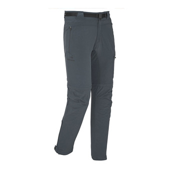Pantalon convertible homme FLEX crest black