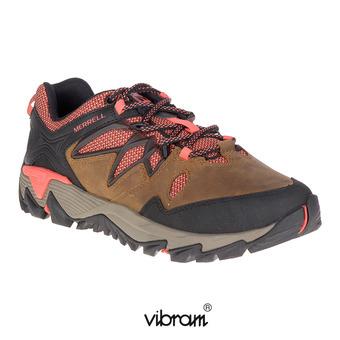 Chaussures de randonnée femme ALL OUT BLAZE 2 merrell tan