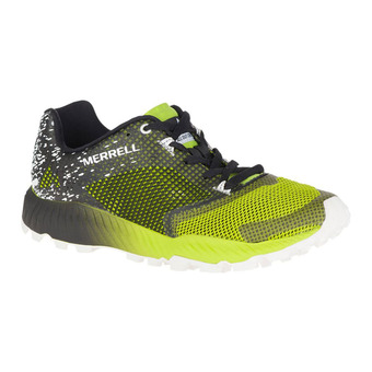 Zapatillas de trail hombre ALL OUT CRUSH 2 black/speed green