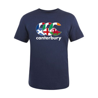 Camiseta hombre TEAM PLAIN navy nation