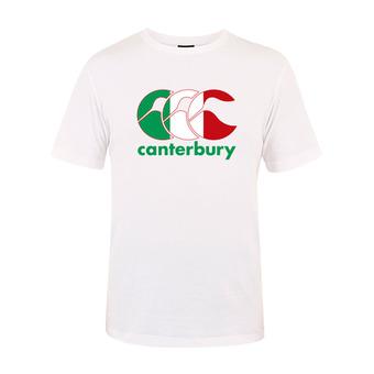 Camiseta hombre TEAM PLAIN white italia