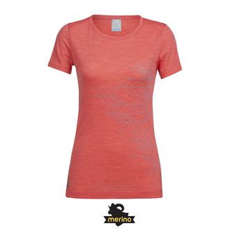 Camiseta mujer SPERE poppy red