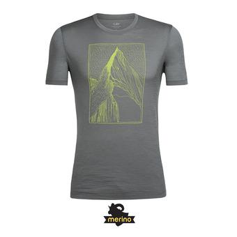 Camiseta hombre TECH LITE metal