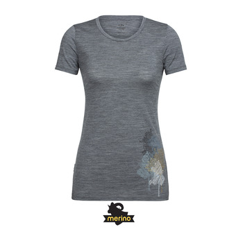 Tee-shirt MC femme TECH LITE gritstone