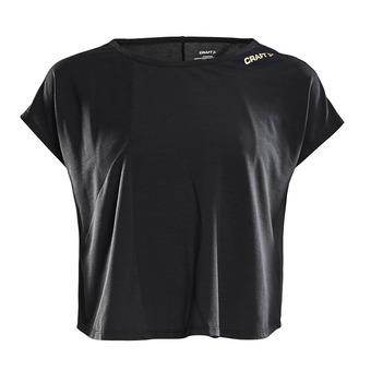 Camiseta mujer VIBE black/champ