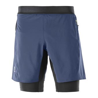 Short 2 en 1 hombre FAST WING TWINSKIN dress blue