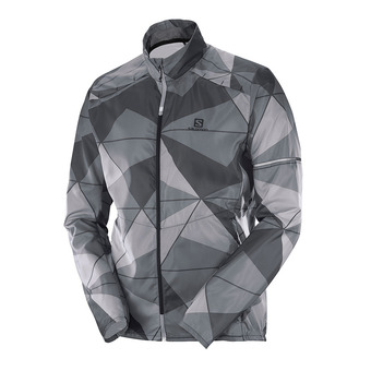 Chaqueta hombre AGILE WIND forged iro/quiet shad/alloy