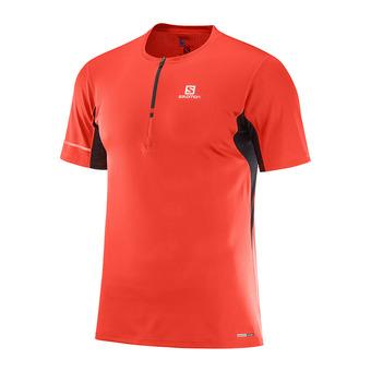 Camiseta hombre AGILE HZ fiery red